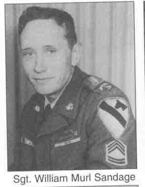 Sgt William Murl Sandage
