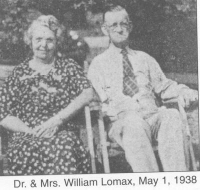 Dr William Lomax & wife Hettie Dugan